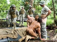 Army guys shower movietures gay first time Jungle smash