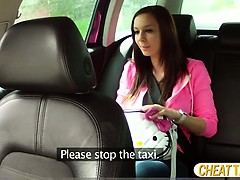 Beautiful Natalie Gets Scammed And Fucked In Taxi And