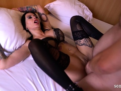 Real German Big Tits Hooker Fuck with Client and made Orgasm