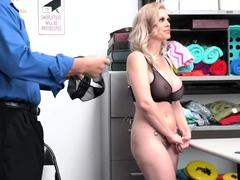 Milf Casca Akashova w HUMONGUS TITS caught shoplyfting!