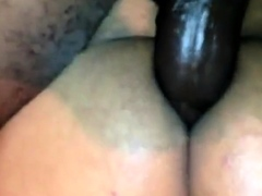BBC pounding and breeding my boi-pussy