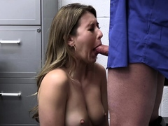 Cop spread babes legs and fucked her