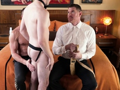 Legrand Wolf and Myles Landon fuck and breed smooth boy